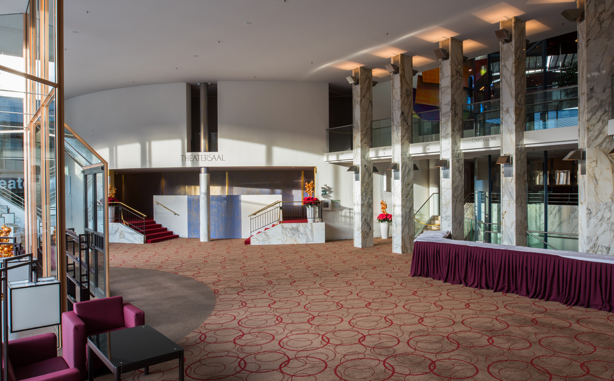Foyer in the Cultural Center